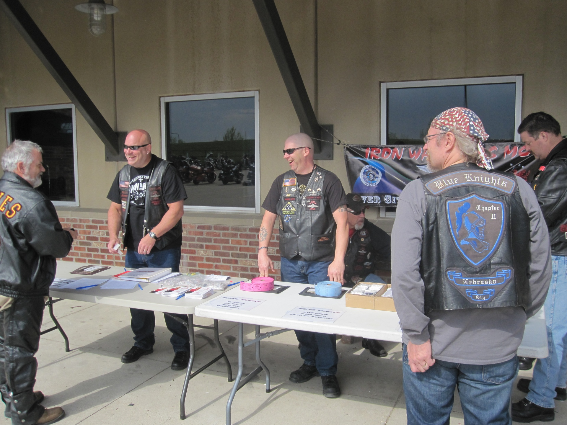 Registration at Dillon Bros. H-D